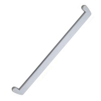 Заглушка для подоконника BrusBox белая 600мм [250]