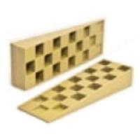 Клин монтажный 143х43х22 желтый