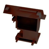 Заглушка для штульпа REHAU-60 правая коричневая