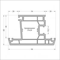 Створка двери Т094 6,5м