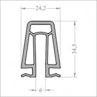 Профиль соединительный универсальный 6,5м