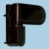 Петля дверная DOOR LINE Н21 80 кг коричневая