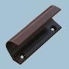 Ручка балконная алюминиевая коричневая